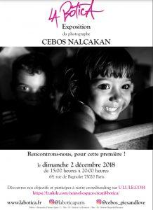 Affiche Exposition Cebos Nalcakan Décembre 2018