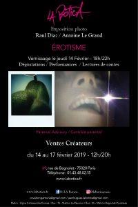 Exposition photographique - Raul Diaz - Antoine Le Grand - Pop Up Store Paris -