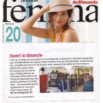 la Botica Paris, article Version Femina
