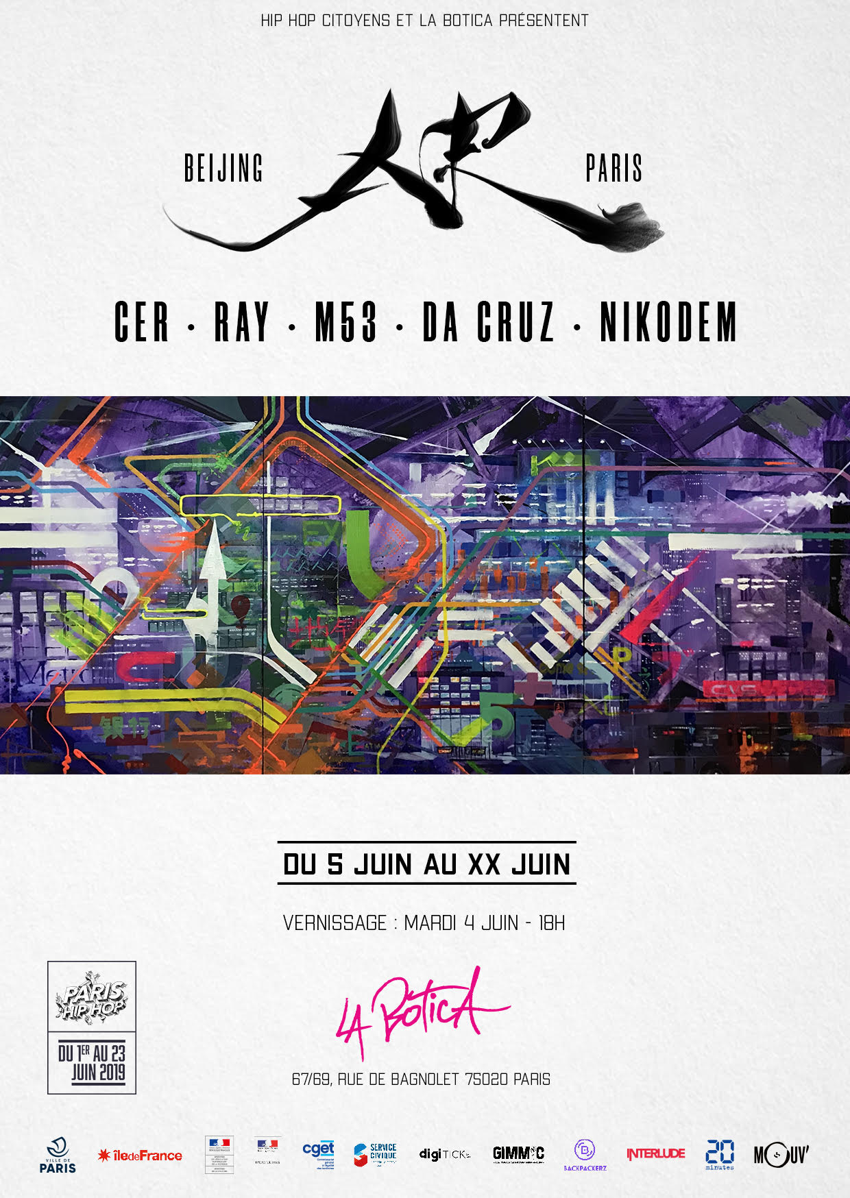 Exposition Beijing Paris - Hip Hop