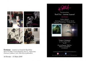 Exposition photographique Antoine Legrand , Raul Diaz - Raul Diaz - Antoine Le Grand - Pop Up Store Paris -