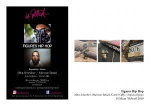 Affiche expo Mike Schreiber et Marwen Belaïd - Anjuna Bijoux, Comer OBK,