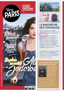 Parution presse Vivre Paris