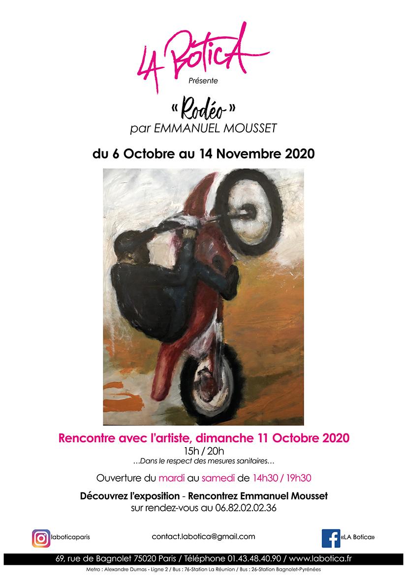 """""""Rodéo"""" par Emmanuel Mousset"""